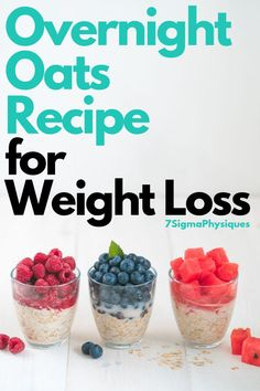 Oats Recipe for Weight Loss If you're trying to find new, quick, and healthy recipes for weight loss, you're in luck. Here's an overnight oats recipe for weight loss to help you reach your fitness goals and stay on track. Breakfast Smoothies For Weight Loss, Weight Loss Smoothies, Jar Breakfast, Fruit Smoothies, Healthy Smoothies, Best Diet Drinks, Overnight Oats In A Jar, Best Fat Burning Foods, Oats Recipes