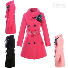 Wholesale Women's Double-breasted Luxury Winter Coat Outerwear Adeal 3351, Free shipping, $38.18/Piece   DHgate