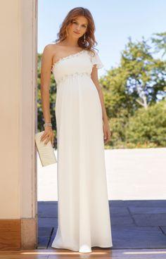 Lisbeth Maternity Wedding Gown Ivory by Tiffany Rose