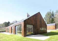 """Edinburgh practice A449 has adapted a """"nondescript"""" mid-20th-century dwelling in the Scottish Borders to create a home with scenic views for a writer."""