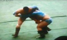 Mongolian wrestling move