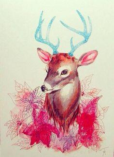 #Deer, #Art