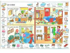 "Teach Another Language to Kids (T.A.L.K.) Davis CA: Vocabulario de ""La Casa"""