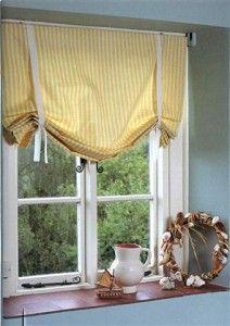 Как сшить подъемную штору
