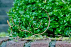 Schnecke aus Stahlband - Karin Urban - NaturalSTyle