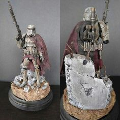 "Star Wars Bandai model. ""The Long War"""