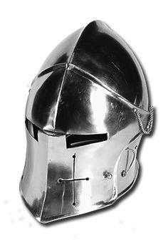 Helm Visored Barbuta