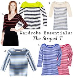 Wardrobe Essentials – The Striped T