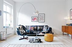 The Flos Arco Floor Light takes centre stage... http://www.nest.co.uk/product/flos-arco-floor-lamp
