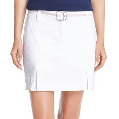 Women's IZOD Belted Golf Skort, Size: 1