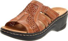 Clarks Women's Lexi Bark Slide Sandal,Tan Leather,8 M US Clarks,http://www.amazon.com/dp/B005CRVQ5E/ref=cm_sw_r_pi_dp_Dh3Dtb17SG70NAAS