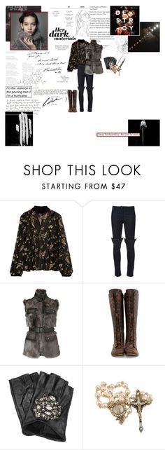 """""""You're all gonna watch me disappear into the sun."""" by curious-and-young ❤ liked on Polyvore featuring SUNO New York, Gareth Pugh, Belstaff, John Fluevog, Karl Lagerfeld and modern"""