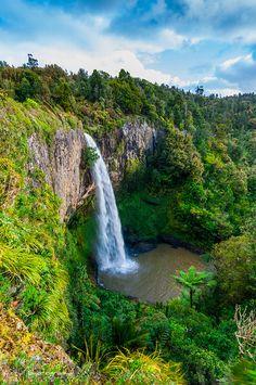 Bridal Falls, New Zealand