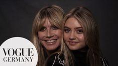 Heute veröffentlicht die Vogue Deutschland auf Youtube das allererste Mutter-Tochter-Interview. Leni Klum tritt das erst mal in die Öffentlichkeit und natürlich direkt mit einem Auftritt, den nur Heidi Klum planen kann. Das allererste Fotoshooting und schon das Cover der Vogue! Leni Klum, Vogue, Mein Style, Sweet Messages, Models, True Beauty, Interview, Cover, Daughter
