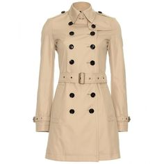 Burberry Brit Crombrook Trench Coat found on Polyvore