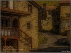 Old villageTudanca by mapyp77