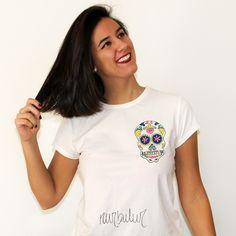 Camiseta calavera - 15€