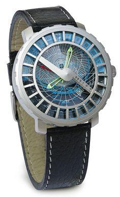 Watch Design The Astrolabe Watch Navigator's Dream Watch Men's Watch Geek Gift Stylish Watches, Cool Watches, Watches For Men, Fine Watches, Men's Watches, Dream Watches, Sport Watches, Luxury Watches, Geek Gifts