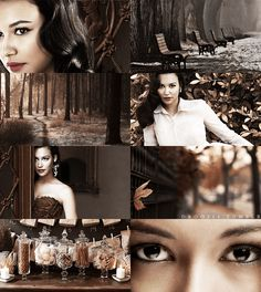if the months had faces→ Naya Rivera as November,suggested by madfromamyriad