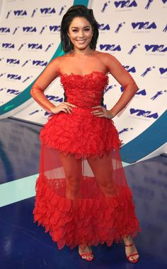 Vanessa Hudgens in Yanina Couture at the 2017 MTV Video Music Awards