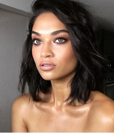"SHANINA SHAIK on Instagram: ""I call this look by @patrickta "" Smokey Chocolate"" ❤️ Hair by @Laurapolko """
