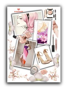 """""""snapmade 13"""" by dilruha ❤ liked on Polyvore featuring Burberry and Maybelline"""