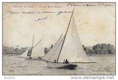 Bermudien en régates en Loire devant Roche-Maurice