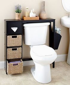 Small bathroom storage 820358888360631777 - This Wooden Bathroom Space Saver or Baskets appeals to your desire for functional decor with a classic look. The Wooden Bathroom Space Saver x Source by nicollepereiradossantos Bathroom Shelf Decor, Small Bathroom Storage, Wooden Bathroom, Bathroom Furniture, Bathroom Cabinets, Accent Furniture, Wall Storage, Wall Cabinets, Brown Bathroom