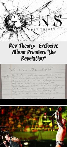 "Rev Theory: Exclusive Album Premiere""the Revelation"" Steve Moore, Album Stream, What Is Coming, Avenged Sevenfold, The Rev, Writing Process, Foo Fighters, Greatest Songs, Theme Song"