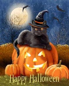 The History of Halloween. It's Halloween – the celebration the ancient Celts called Samhain. This marks the Celtic beginning of the New Year and winter. This celebration starts at sunset Halloween Humor, Halloween Tags, Halloween Kunst, Halloween Scene, Theme Halloween, Halloween Drawings, Holidays Halloween, Scary Halloween, Halloween Decorations