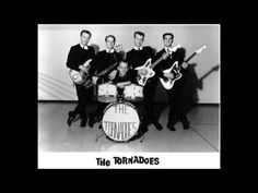"The Tornados - Telstar (HQ) This fantastic instrumental by ""The Tornados"" was released in 1962 and made number 1 in the UK charts, and also number 1 in the U.S in the same week. As instrumentals go they don't get much better than this one. 60s Music, Music Love, Good Music, Surf Music, Hit Songs, Music Songs, Music Videos, Tornados, Chevrolet Bel Air"