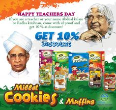 Happy Teachers Day, Nutritional Value, Teachers' Day, Muffins, Beverages, Names, Foods, Food Food, Muffin