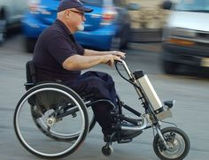 Firefly: Turns Your Wheelchair Into an Electric Tricycle
