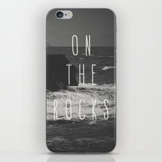 Buy On The Rocks iPhone Skin by nuam. Worldwide shipping available at Society6.com. Just one of millions of high quality products available. Iphone 8 Plus, Iphone 7, Iphone Skins, The Rock, Vinyl Decals, I Shop, Rocks, Phone Cases, Stuff To Buy