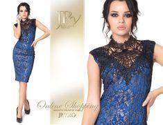 Rochie eleganta Precious JRV Blue Marimi: S, M, L Comanda tel.: 0736.358.802 Formal Dresses, Blue, Fashion, Dresses For Formal, Moda, Formal Gowns, Fashion Styles, Formal Dress, Gowns