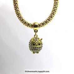 Modearmband mit Eulenanhänger in Modeschmuck auf Uhrenmarkt Juppy24 Pendant Necklace, Jewelry, Fashion, Owl Pendant, Fashion Jewelry, Clock, Armband, Jewlery, Moda