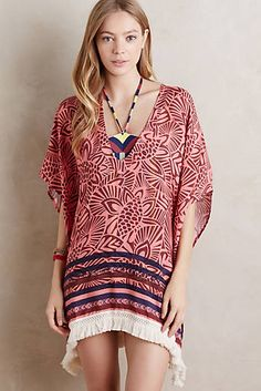 Fringed Palm Cover-Up