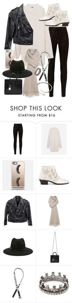 """""""Untitled #21071"""" by florencia95 ❤ liked on Polyvore featuring rag & bone, Casetify, Chloé, Linea Pelle, MaxMara, Forever 21, Yves Saint Laurent, H&M, Loree Rodkin and Cartier"""