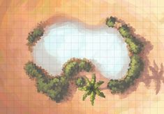 The Desert Oasis, a FREE battle map for D&D / Dungeons & Dragons, Pathfinder, Warhammer and other table top RPGs. Tags: dark sun, desert, lake, mirage, oasis, pond, pool, wilderness