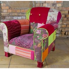 I want a patchwork chair!