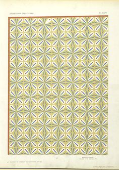 40. Plafond du Tombeau de Hapousenb (n° 67) From New York Public Library Digital Collections.