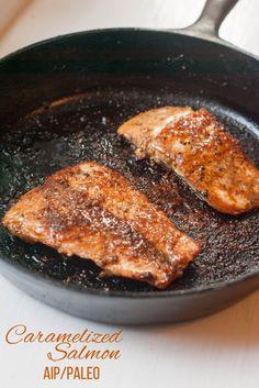 Caramelized Salmon (AIP/Paleo)