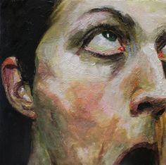 by Cara Thayer & Louie Van Patten Art project inspiration / alicewhalley Figure Painting, Painting & Drawing, Inspiration Artistique, A Level Art, High Art, Art Studies, Portrait Art, Portraits, Art Sketchbook