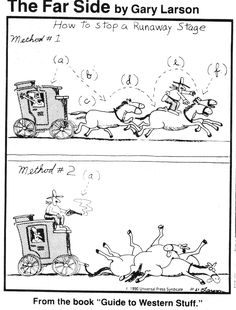 - * Far Side Panels * - Gary Larson