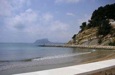 El Portet - Moraira - Spain Moraira, Travelling, Spain, World, Beach, Water, Outdoor, Gripe Water, Outdoors