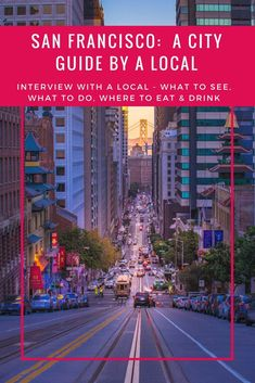 Are you looking for the top things to do in San Francisco? Do you want to know the best way to see the Golden Gate Bridge? Or the must see sights in San Francisco? Or the best food, restaurants and bars in San Francisco? Then read this visitors guide written by a local and locals give the best advice! Part of a regular series of city guides : Interview with a Local www.theglobetrottergp.com