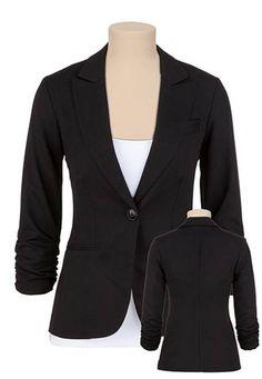 I must order this crisp blazer