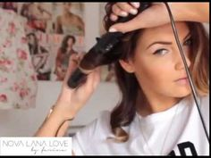 Hair Tutorial: how to do big waves with a Remington curling iron [Lockenstab]