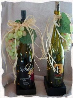 wine bottles by chatty