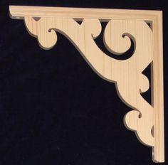 L&G Victorian Gingerbread Fretwork Trim Bracket SET | Home & Garden, Home Improvement, Building & Hardware | eBay!